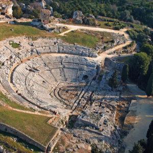 Teatro Greco Di Siracusa Aerea